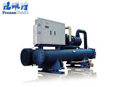 水冷螺杆单机双级冷水机组【-45℃】