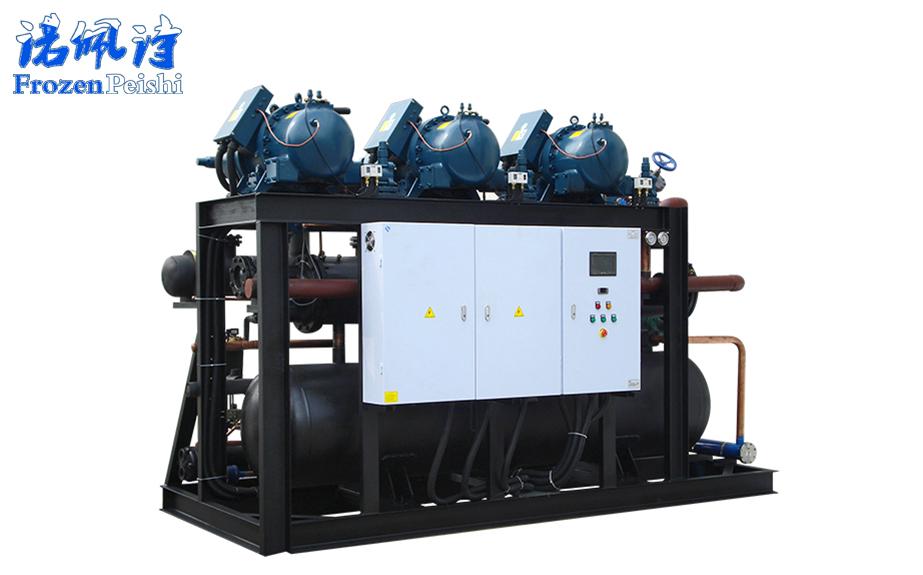 水冷螺杆复叠式冷水机组【-55℃】
