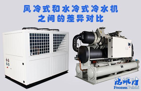 风冷式和水冷式冷水机之间的差异对比