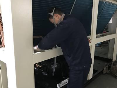 佩诗机电-工业冷水机生产车间展示【图2】